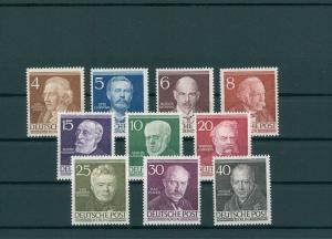 BERLIN 1952 Nr 91-100 postfrisch (200335)