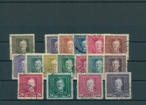 BOSNIEN+HERZEGOWINA 1917 Nr 124-141 gestempelt (200365)