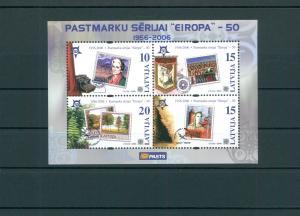 LETTLAND 2006 Bl.21 postfrisch (200487)