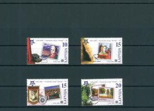 LETTLAND 2006 Nr 652-655 postfrisch (200488)