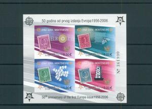 MONTENEGRO 2006 Bl.2B postfrisch (200491)