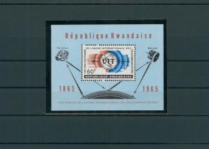 RUANDA 1965 Bl.4A postfrisch (200552)