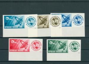 TOGO 1965 Nr 457-461B postfrisch (200553)