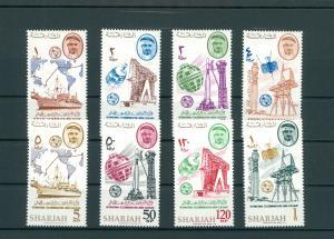 SHARJAH 1965 Nr 185-192A postfrisch (200568)