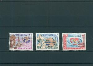LAOS 1965 Nr 160-162 postfrisch (200573)
