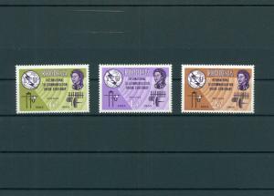 RHODESIEN 1965 Nr 1-3 postfrisch (200574)
