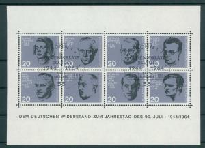 BUND 1964 Bl.3 gestempelt (200637)