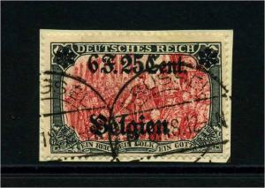 LP IN BELGIEN 1916 Nr 25I gestempelt (113834)