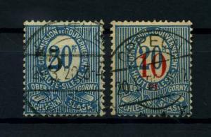 OBERSCHLESIEN 1920 Nr 10-11 gestempelt (113896)