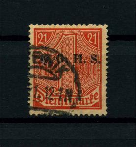 OBERSCHLESIEN 1920 Nr D7 gestempelt (113911)