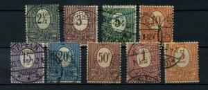OBERSCHLESIEN 1920 Nr 1-9 gestempelt (113941)