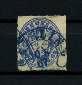 PREUSSEN 1861 Nr 17 gestempelt (113982)