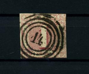 THURN+TAXIS 1862 Nr 29 gestempelt (114027)