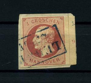 HANNOVER 1859 Nr 14 gestempelt (114069)