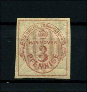 HANNOVER 1859 Nr 13 siehe Beschreibung (114070)