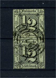 THURN+TAXIS 1852 Nr 3 gestempelt (114084)