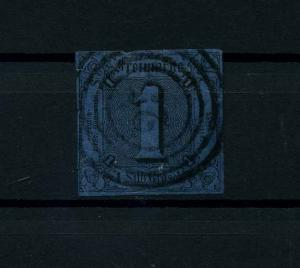 THURN+TAXIS 1852 Nr 4 gestempelt (114085)