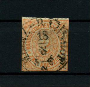 NDB 1868 Nr 8 gestempelt (114106)