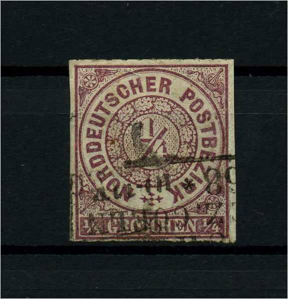 NDB 1868 Nr 1 gestempelt (114116) 0