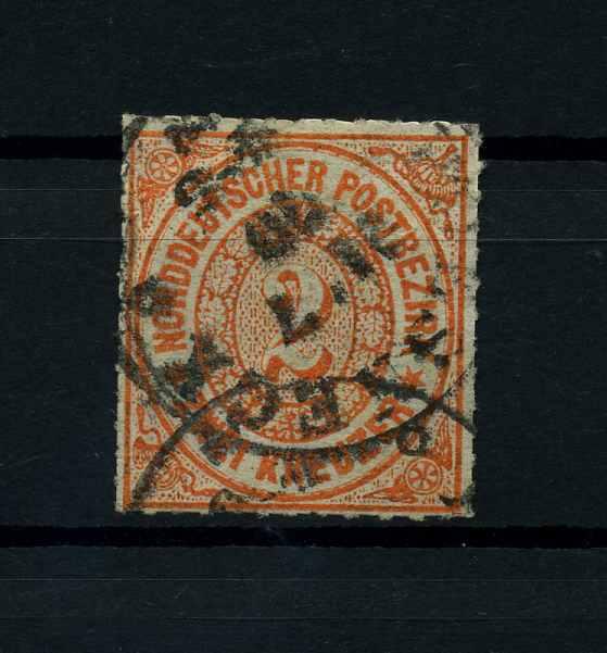 NDB 1868 Nr 8 gestempelt (114117) 0