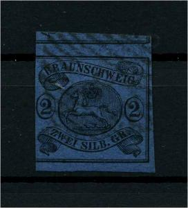 BRAUNSCHWEIG 1853 Nr 7 gestempelt (114155)