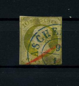 HANNOVER 1861 Nr 18 gestempelt (114170)