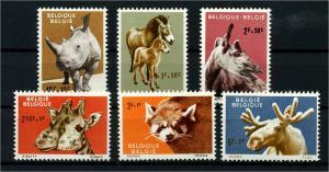 BELGIEN 1961 Nr 1242-1247 postfrisch (114175)
