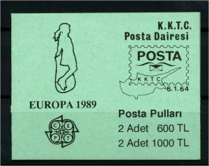 TUERK.ZYPERN 1989 MH2 postfrisch (114180)