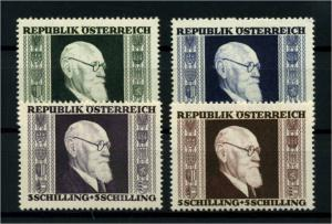 OESTERREICH 1946 Nr 772-775 postfrisch (114379)