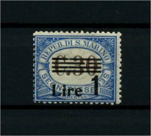 SAN MARINO 1936 Nr P58 siehe Beschreibung (114402)