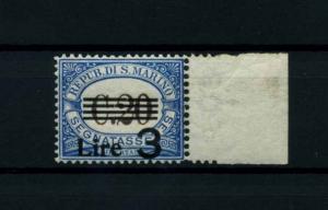 SAN MARINO 1936 Nr P63 postfrisch (114403)
