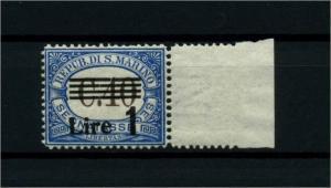 SAN MARINO 1936 Nr P59 postfrisch (114404)