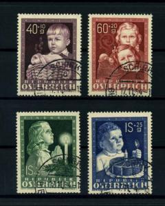 OESTERREICH 1949 Nr 929-932 gestempelt (114406)
