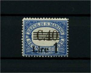 SAN MARINO 1936 Nr P59 siehe Beschreibung (114410)