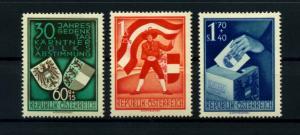 OESTERREICH 1950 Nr 952-954 siehe Beschreibung (114411)