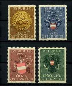 OESTERREICH 1949 Nr 937-940 postfrisch (114418)