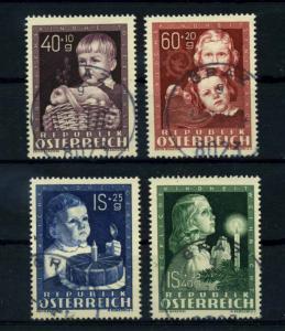OESTERREICH 1949 Nr 929-932 gestempelt (114419)