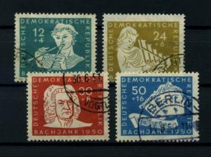 DDR 1950 Nr 256-259 gestempelt (114595)