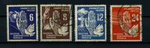 DDR 1950 Nr 276-279 gestempelt (114597)