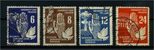 DDR 1950 Nr 276-279 gestempelt (114598)