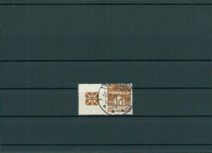 DAENEMARK 1937 Nr 233+R36 gestempelt (201154)