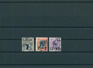 DAENEMARK 1926 Nr 156-158 gestempelt (201172)