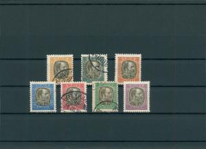 ISLAND 1902 Nr D17-23 siehe Beschreibung (201188)