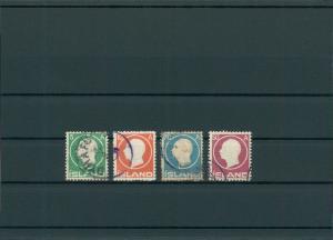 ISLAND 1907 Nr 69-72 gestempelt (201194)