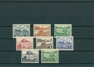 ISLAND 1950 Nr 263-270 siehe Beschreibung (201210)