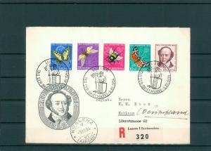 TAG DER BRIEFMARKE 1954 Beleg siehe Beschreibung (201284)