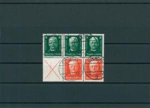 DEUTSCHES REICH 1927 ZD S37 gestempelt (201381)