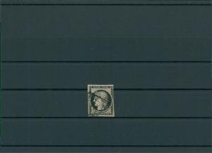FRANKREICH 1849 Nr 3 gestempelt (201387)