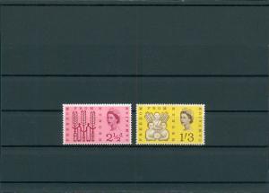 GROSSBRITANNIEN 1963 Nr 254-255y postfrisch (201449)
