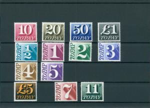 GROSSBRITANNIEN 1970/75 Nr P76-88 postfrisch (201459)